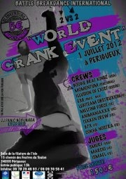 World Crank Event - Battle de Break - dance international(grand format) - Activité 'Danse' - Les Rendez-Vous Du Coin